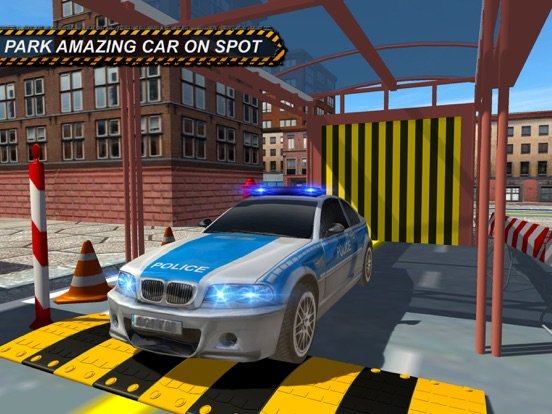extreme 3d parking voiture de police par zohaib iftikhar. Black Bedroom Furniture Sets. Home Design Ideas