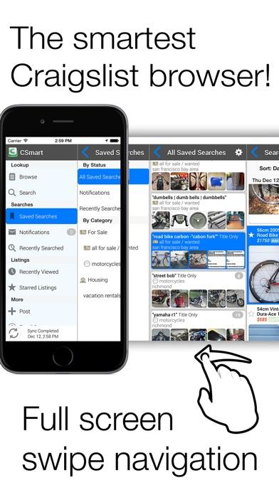download CSmart Pro for craigslist apps 0