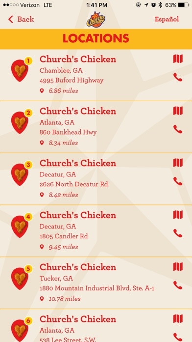 Church S Chicken On The App Store