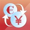 Yen zu Eur Währung konvert