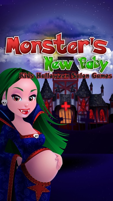 download Monster's New Baby - Kids Halloween Salon Games apps 1