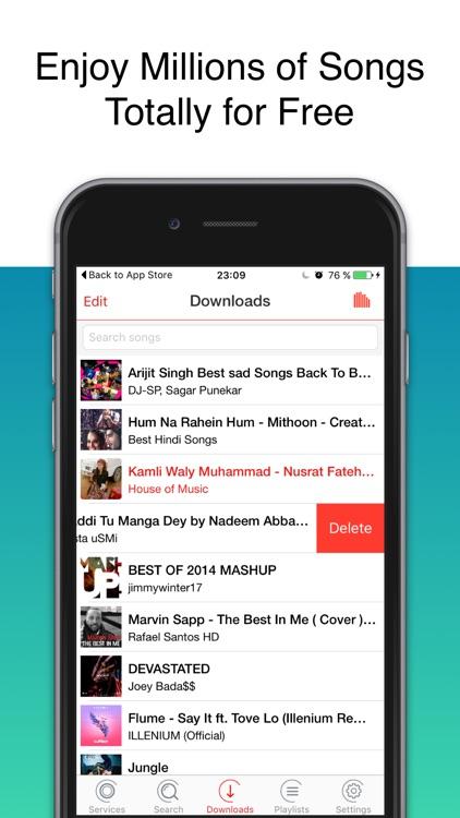 Download Free Music Mp3 Unlimited Audio Player by Fabien Auberjon