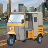 A V Logix - Go Real City Auto Rickshaw Tuk Tuk Drive artwork