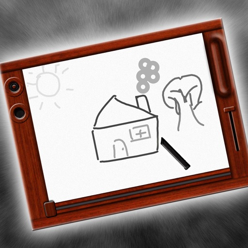 Classic Magnetic Doodle Board iOS App