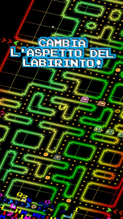 Screenshot of PAC-MAN 256 - Labirinto arcade infinito2