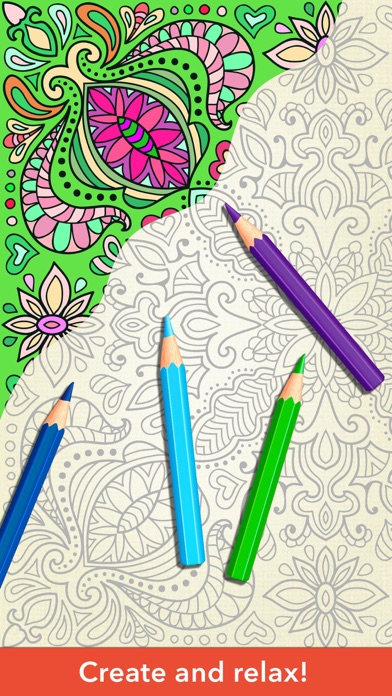 Zen coloring book for adults on the app store Zen coloring book for adults
