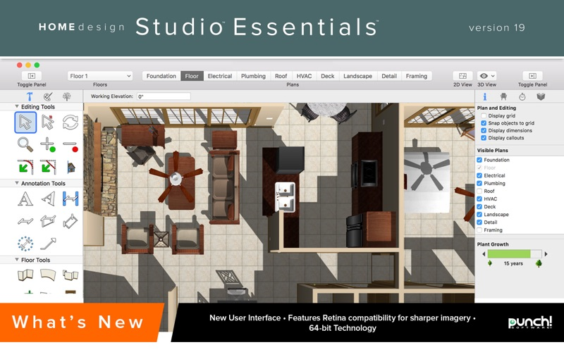 Punch! Home Design Studio Essentials 19 on the Mac App Store