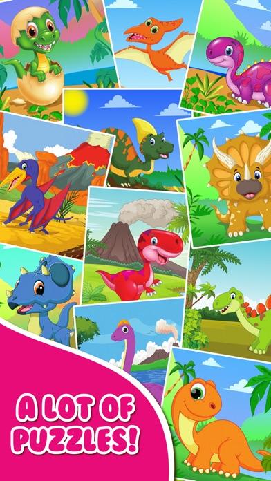 Dinosaur Jigsaw Puzzle.s Free Toddler.s Kids Games App ...