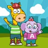 Zip and Abby: speak the friendly language of math