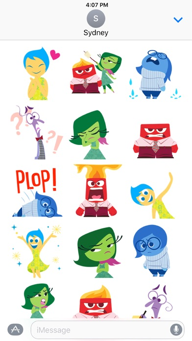 Disney Stickers: Inside Out