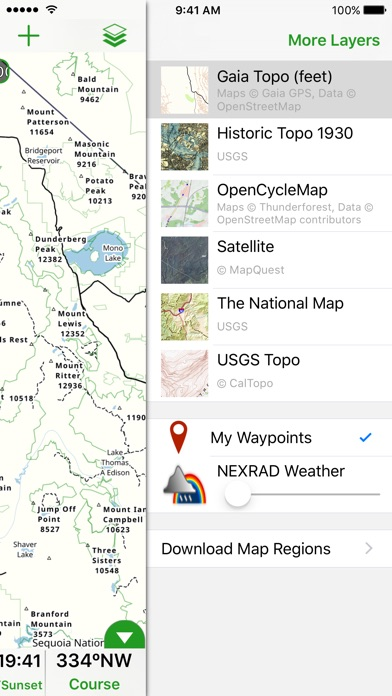 Offline Topo Maps On The App Store - Download map of us apple