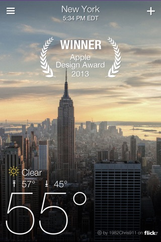 Yahoo Weather screenshot 1
