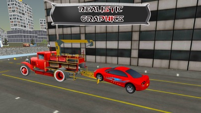 レッカー車の駐車場 - 都市車のけん引シミュレーターのゲームのスクリーンショット3