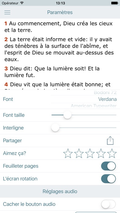download La Bible Louis Segond - Audio Holy Bible in French apps 4