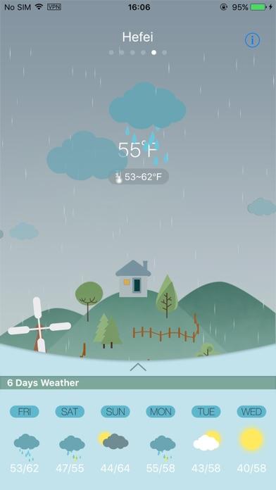 Weather Lite+Скриншоты 5