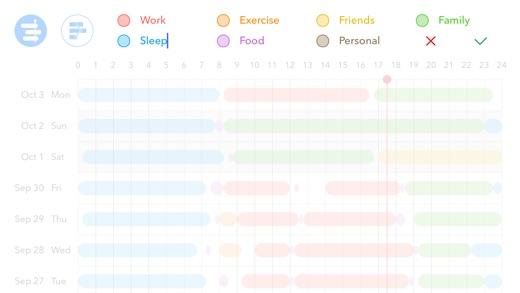 24H - Hours Tracker for Work, Sleep Cycle Analysis Screenshot