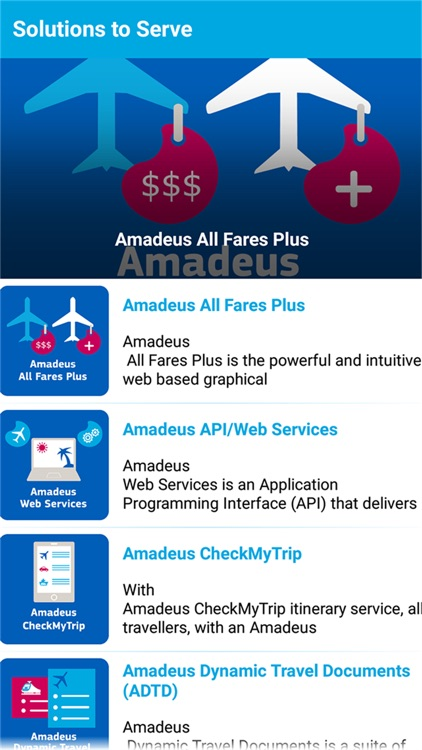 AmadeusTouch by AMADEUS GLOBAL TRAVEL DISTRIBUTION