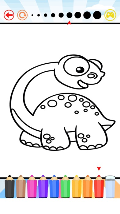 Dinosaur Coloring Book All Pages Free For Kids HD App Download
