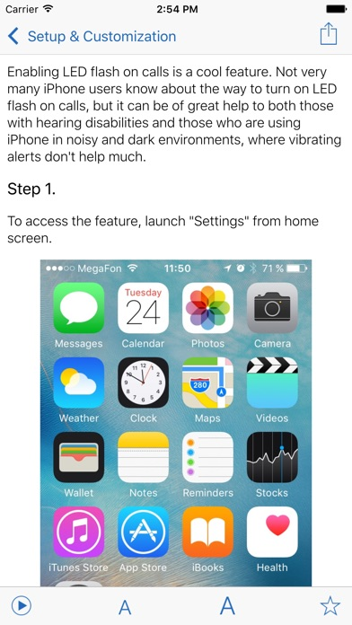Manual for iPhone with secrets, tips & tricks screenshot two