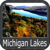 Lakes : Michigan - GPS Map Navigator