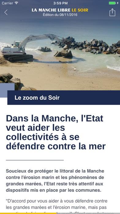 La Manche Libre Le Soir – C'est notre quotidienCapture d'écran de 2
