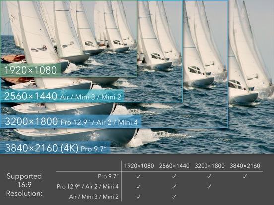 Screenshots of ProMovie Recorder - 4K Video Camera+Manual Control for iPad