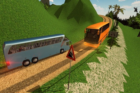 Offroad Tourist Bus Driving Transport Simulator screenshot 3