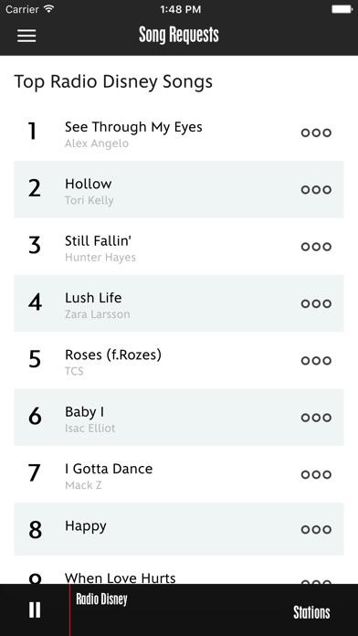Screenshot #5 for Radio Disney