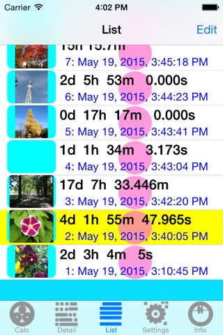 TimeDeCalc screenshot 4