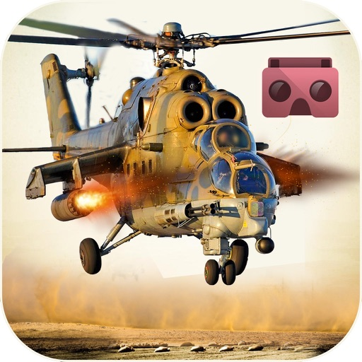 VR Helicopter War Shooter : Real Cobra Attack iOS App