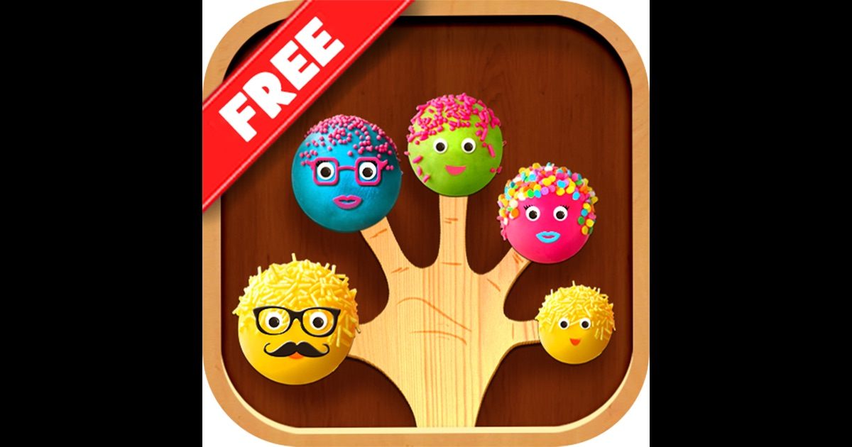Kids Tv Cake Apple Game