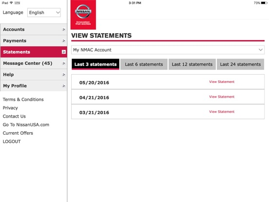 App shopper nmac account manager business for Nissan motor acceptance payoff number