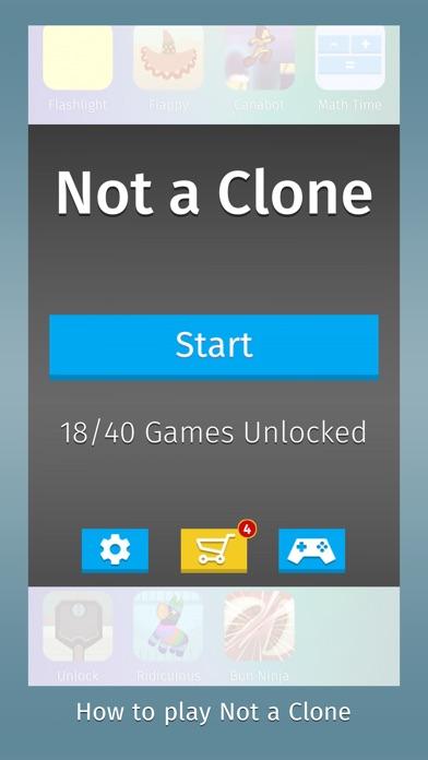 Not a Clone Screenshot