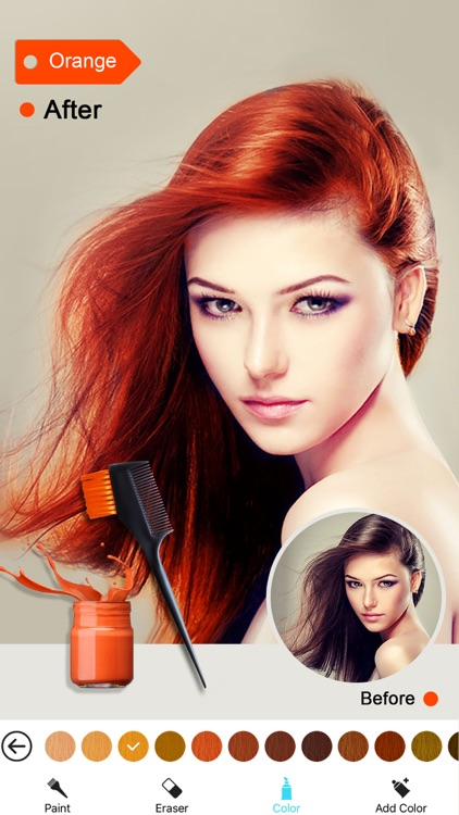 Hair Color Dye Switch Hairstyles Wig Photo Makeup By Liming Zhang - Hairstyle color app