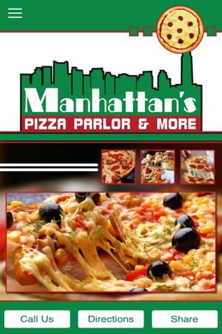 Manhattans Pizza Parlor & More screenshot 1