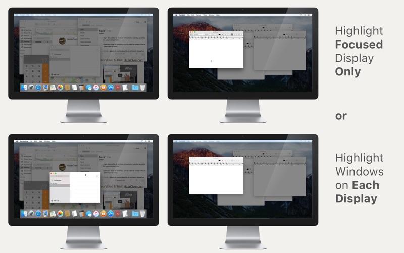 HazeOver • 디스트랙션 디머 앱스토어 스크린샷