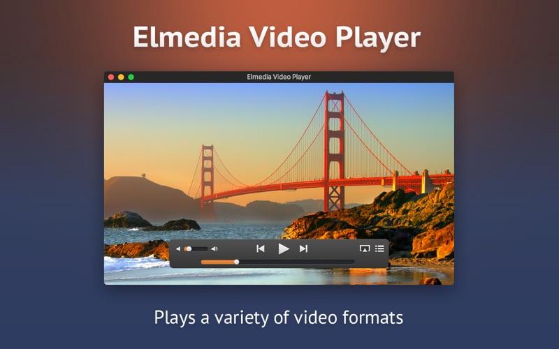 Screenshot #1 for Elmedia Video Player