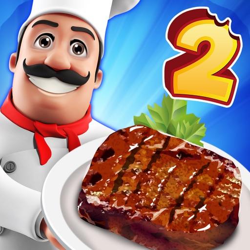 料理 スクランブル: バーベキュー! 2 - バーガー 熱 フード シェフ