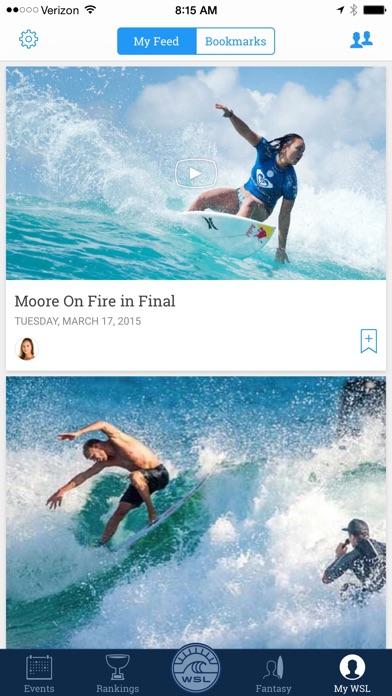 World Surf League screenshot four