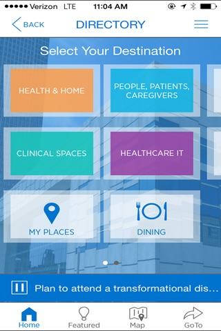 Global Center for Health Innovation screenshot 1