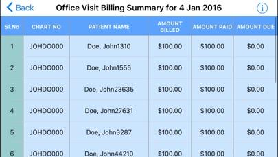 IDC Billing Summary screenshot four