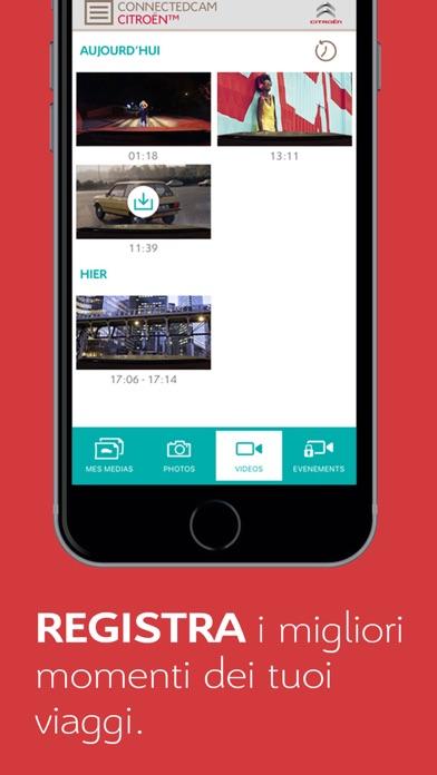 Screenshot of ConnectedCAM Citroën for C33