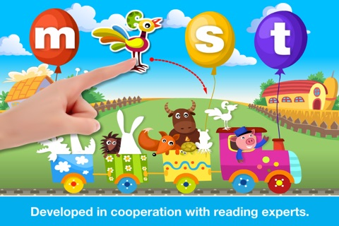 ABCs Alphabet Phonics Learn to Read Preschool Game screenshot 1