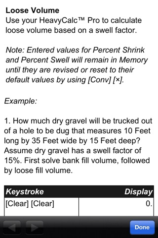 HeavyCalc Pro Feet Inch Cubic Yard Calculator screenshot 4