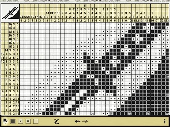 Японские кроссворды Катана Скриншоты7