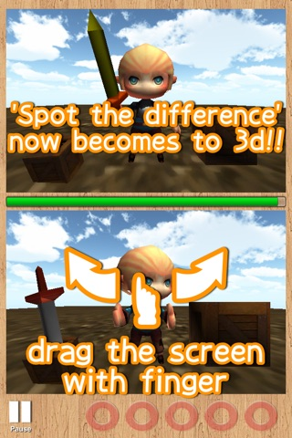 Spot the difference 3D screenshot 1