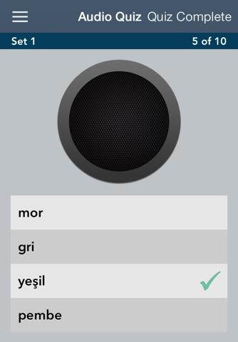 Learn Turkish - AccelaStudy® screenshot 2