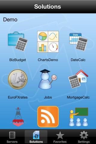 Altova MobileTogether screenshot 1