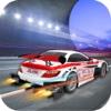 Airborne Snow Racer : Car Racing Game racing wanted