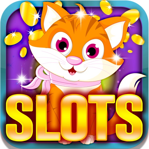 Feline Slot Machine: Enjoy yourself and play fabulous cat betting games for daily rewards iOS App